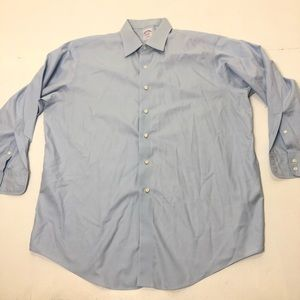 Men's Size 17 / 33 Brooks Brothers Dress Shirt